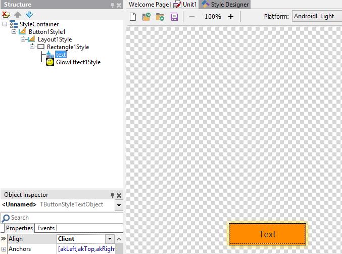 Ошибки IDE при работе с GlowEffect - Стили - Fire Monkey от А до Я